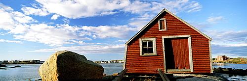 Fishing Stage, Fogo Island, Newfoundland & Labrador.