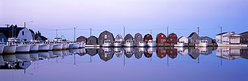 Malpeque Harbour at Dawn, Prince County, Prince Edward Island.