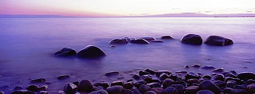 Sunset over the Ocean, Green Point, Gros Morne National Park, Newfoundland