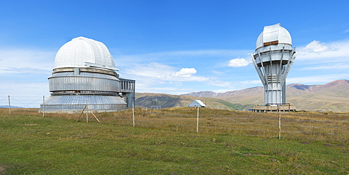 Tien Shan Astronomical Observatory, Ile-Alatau National Park, Assy Plateau, Almaty, Kazakhstan, Central Asia, Asia