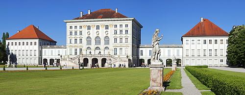Schloss Nymphenburg Palace, Munich, Bavaria, Germany, Europe