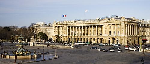 H?tel de Crillon in Place de la Concorde, Paris, France
