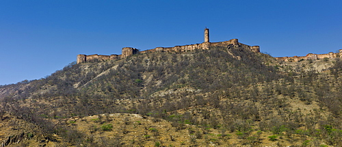 Jaigarh Fort, Rajput Fort built 11th Century in Jaipur, Rajasthan, Northern India