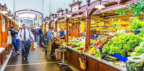 Kauppahalli market in Helsinki, Uusimaa, Finland, Europe