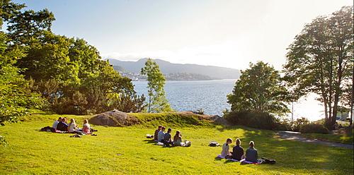 Nordnes, Bergen, Norway, Scandinavia, Europe