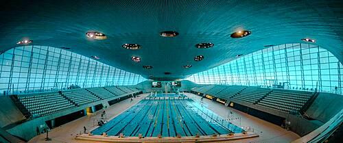 London Aquatics Centre, Stratford, London, England, United Kingdom, Europe