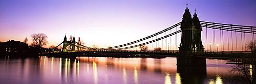 Hammersmith Bridge, London, England, United Kingdom, Europe
