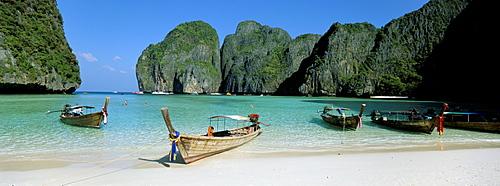 Ao Maya, Phi Phi Le, Ko Phi Phi, Krabi province, Thailand, Southeast Asia, Asia