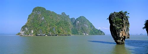 Ko Tapu (James Bond's island), Ao Phangnga, Phuket province, Thailand, Southeast Asia, Asia