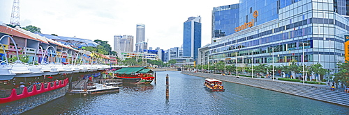 Clarke Quay and the Central, Singapore