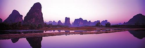 Gao Tian landscape, Guilin, China