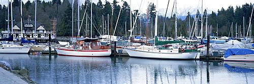 Stanley Park Yacht Harbour, Vancouver, Canada