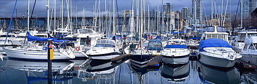 Granville Island Yacht Harbour, Vancouver, Canada