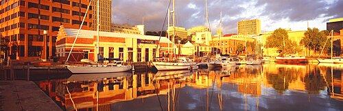 Waterfront, Hobart City, Tasmania, Australia