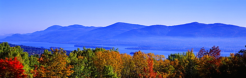 Lake George Adirondack Mountains NY USA