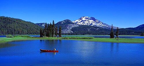 Red Canoe Sparks Lake OR