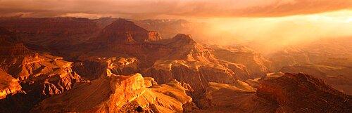 Sunrise View From Hopi Point Grand Canyon AZ