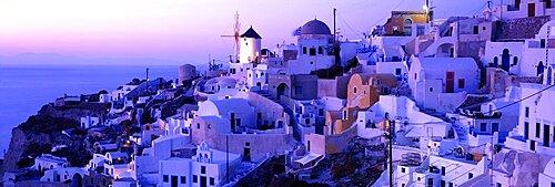 Evening Santorini Greece