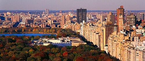 Upper East Side Central Park New York New York USA