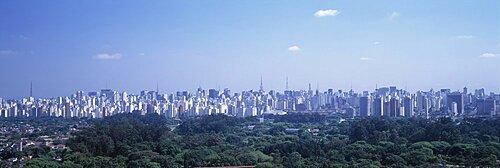 Skyline Sao Paulo Brazil