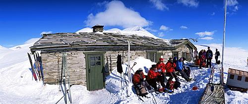 Peer Gynt-hytta, Rondane National Park, Oppland, Norway, Scandinavia, Europe