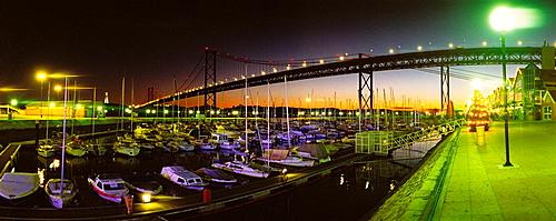 25th of April Bridge, Lisbon, Portugal