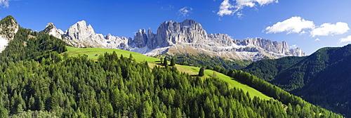 Rosengarten, Catinaccio, Dolomites, South Tyrol-Trentino, Italy, Europe