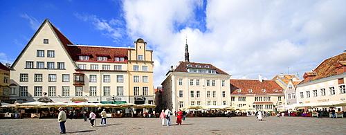 Market Square, Tallinn, Estonia, Baltic States, Europe