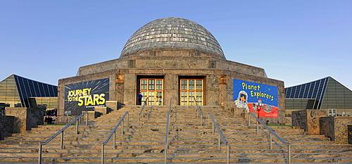 Adler Planetarium, Chicago, Illinois, United States of America, USA, North America