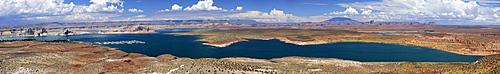 Panarama of Lake Powell, Arizona, USA