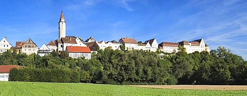 Kirchberg an der Jagst, Hohenlohe, Baden-Wuerttemberg, Germany, Europe