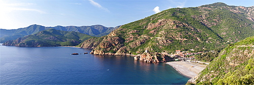 Porto, Gulf of Porto, Corsica, France, Europe