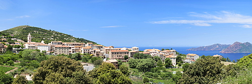 Piana, Gulf of Porto, Corsica, France, Europe