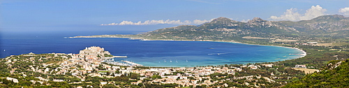 Gulf of Calvi, Balagne, West Corsica, Corsica, France, Europe