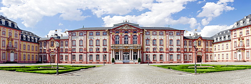 Bruchsal castle, a baroque palace, Baden-Wuerttemberg, Germany, Europe