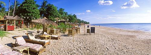 Gecko Bar on the beach, Klong Khong Beach, island of Ko Lanta, Koh Lanta, Krabi, Thailand, Asia