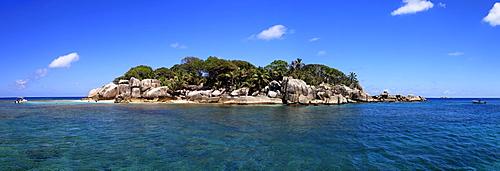 Coco Island, panorama, Seychelles, Africa, Indian Ocean