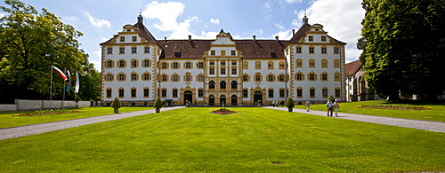 The Reichsabtei Salem abbey, monastery of the Cistercian order, southwest German Rococo, seat of the Internat Schloss Salem residential school, Linzgau, Baden-Wuerttemberg, Germany, Europe