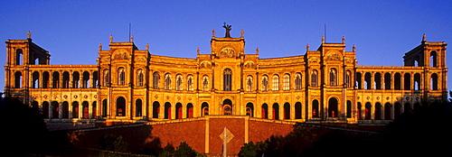 Maximilianeum, Bavarian Landtag, Munich, Bavaria, Germany, Europe