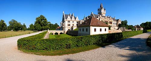 Castle Grafenegg in Lower Austria in the wine quarter
