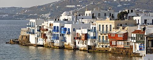 Little Venice, Myconos, Greece