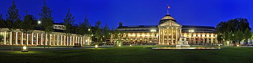 Kurhaus, Casino, Wiesbaden, Hesse, Germany, Europe