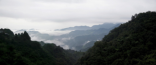 Landscape, Wudangshan, China,