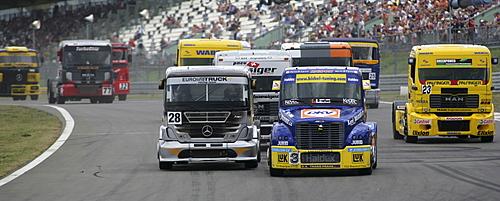 Truck-Grand-Prix at the Nuerburgring Rhineland-Palatinate Germany