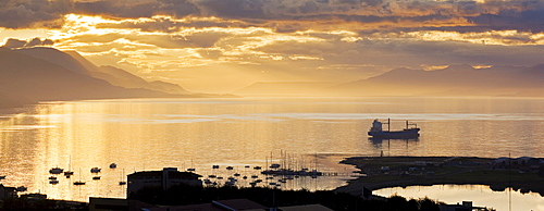 Port of Ushuaia, Tierra del Fuego, Argentina, South America