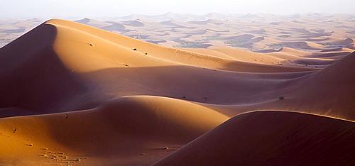 Dunes, Erg Chegaga region, Sahara desert near Mhamid, Morocco, Africa