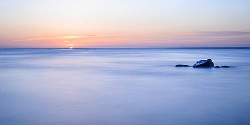 Sunrise at Boggle Hole, Yorkshire, England, United Kingdom, Europe