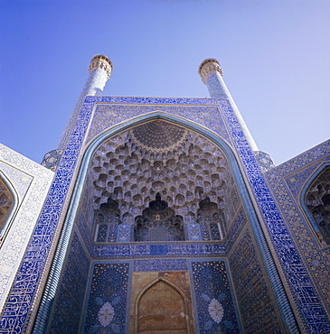Masjid-e-Iman Mosque (Imam Mosque) (Masjed-e Emam), formerly Shah Mosque, Isfahan (Esfahan), Iran, Middle East