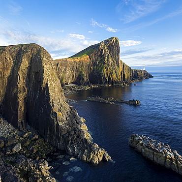 Neist Point Lighthouse, Glendale, Isle of Skye, Inner Hebrides, Highland, Scotland, United Kingdom