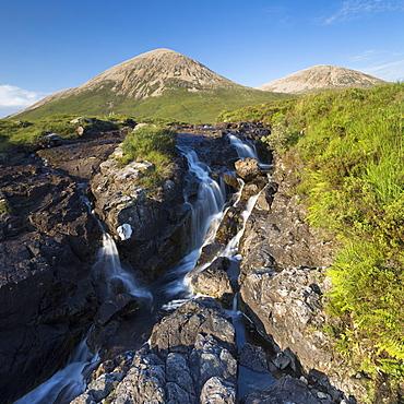 Beinn na Caillich, Loch Slapin, Isle of Skye, Inner Hebrides, Highland, Scotland, United Kingdom